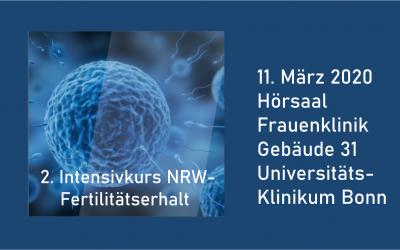 2. Intensivkurs NRW-Fertilitätserhalt