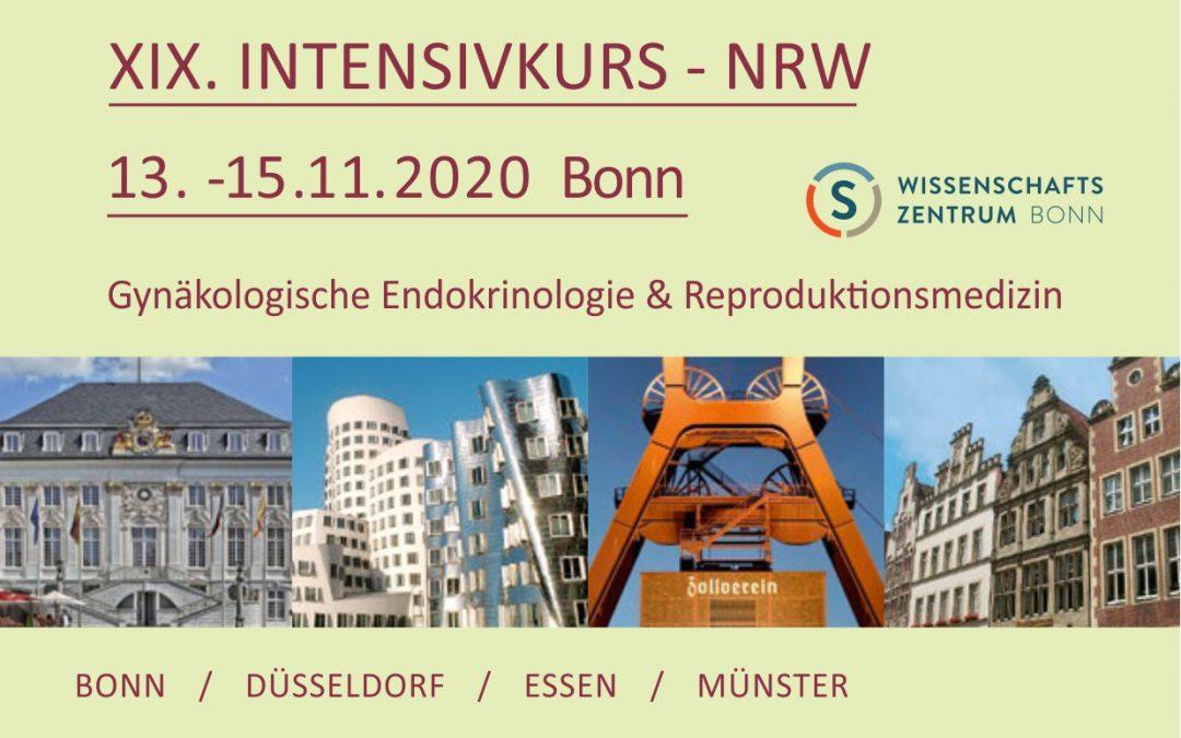 XIX. INTENSIVKURS – NRW 2020