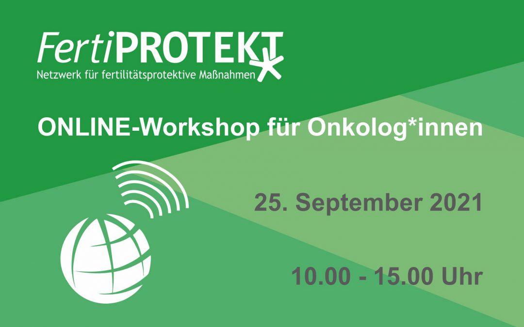 Online-Workshop für Onkolog*innen 25.09.2021