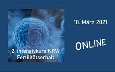 2. INTENSIVKURS NRW Fertilitätserhalt 2021